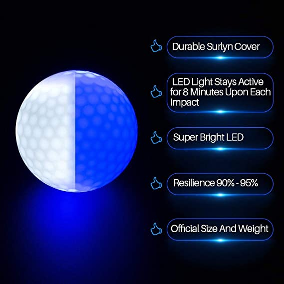 light up golf balls