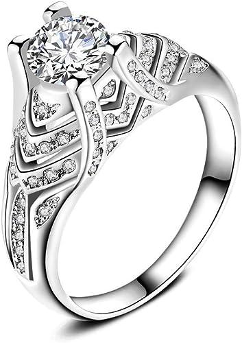 Lujo Mujeres Boho Anillo de piedra turquesa tallado compromiso Aleación Regalo de joyería fina