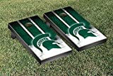 Michigan State Spartans Regulation Cornhole Game Set Vintage Version