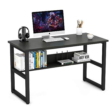Escritorio para ordenador, estación de trabajo para computadora portátil de escritorio de estudio de oficina
