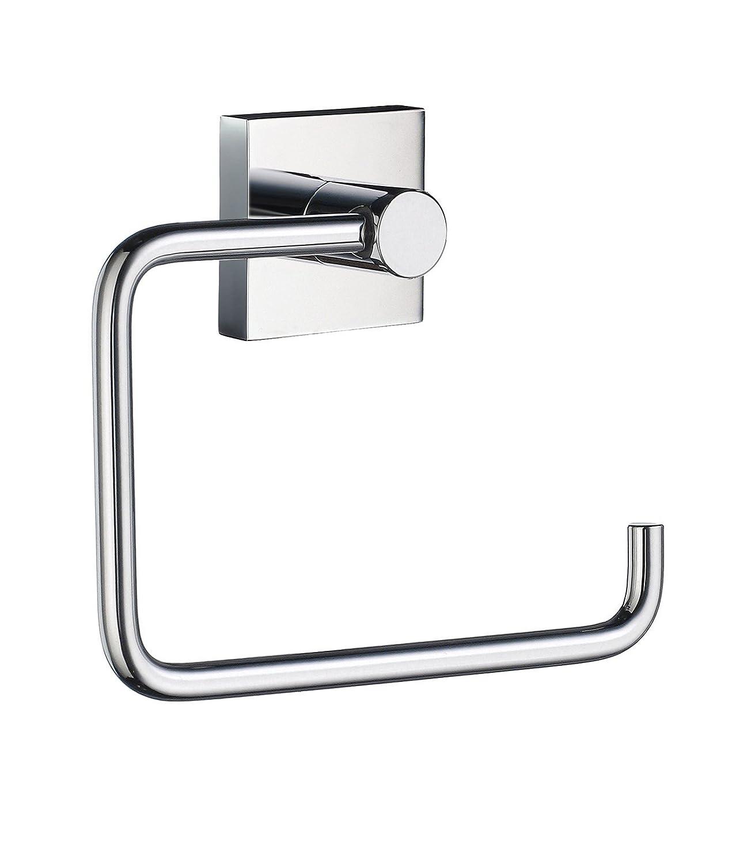 Smedbo SME RK341 Toilet Roll Euro Holder Without Lid Polished Chrome,