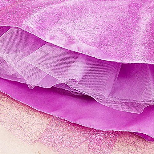 SweetNicole Princess Rapunzel Purple Princess Party Costume Dress with Accessories (7-8) by SweetNicole (Image #7)