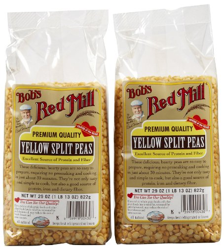 Bob's Red Mill Yellow Split Peas Beans, 29 oz, 2 pk (Yellow Split Pea)