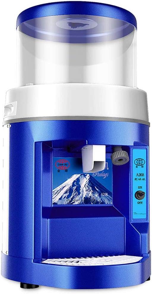 Máquina de Hielo automática Completa Comercial, trituradora de Hielo eléctrica, de Afeitar para la Tienda Comercial, máquina de Afeitar de Cubitos de Hielo, Velocidad de trituración: 8 kg/mi