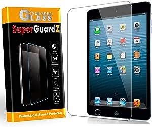 For iPad Mini 5 (2019) / Mini 4 Screen Protector Tempered Glass Anti Blue Light [Eye Protection], SuperGuardZ, Anti-Scratch [Lifetime Replacement]