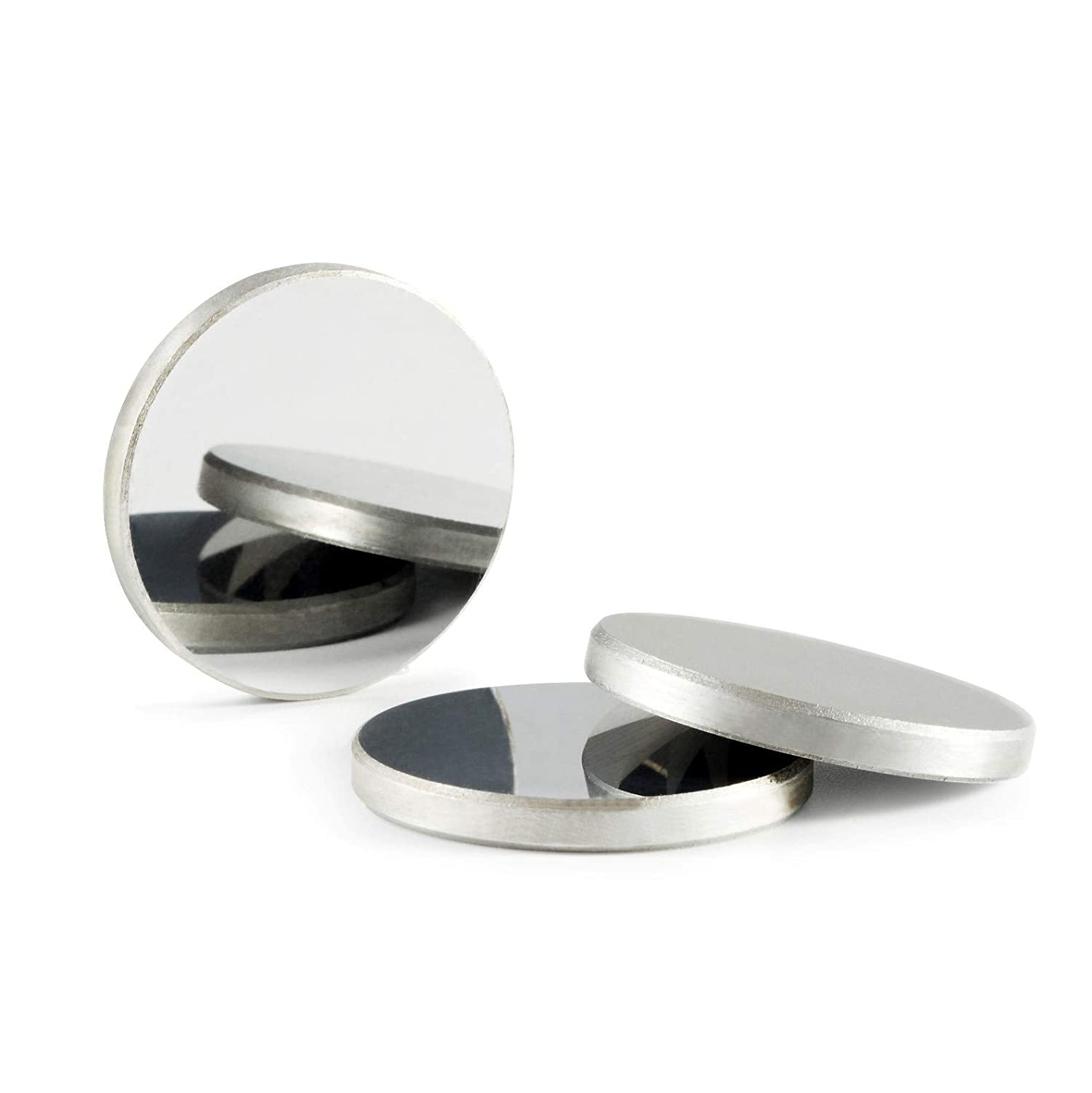 TEH HIGH 3 pieces Diameter 20mm Molybdenum MO Reflector lens for CO2 Laser Cutting engraving machine