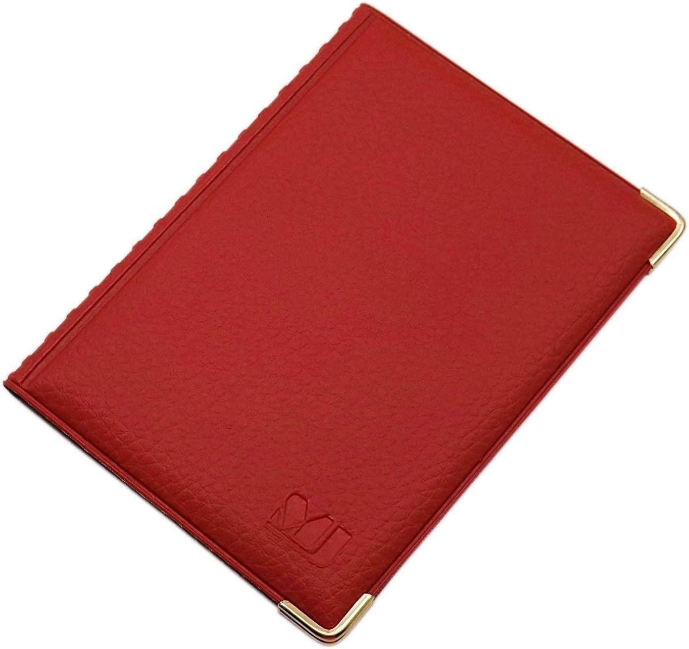 Design 2 // Marrone Porta carte didentit/à e carte di credito con 12 scomparti MJ-Design-Germany Made in UE in diversi colori e designs