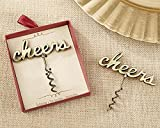 12 Cheers Antique Gold Corkscrews
