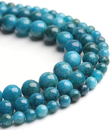Jewelry Making Wholesale Sky Blue Apatite Nugget Beads KG 13 Inches Long Strand  3-6 MM