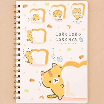 Libreta de anillas con gato Corocoro Coronya de San-X Japón: Amazon.es: Hogar