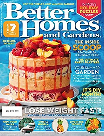 Better Homes And Gardens Australia Amazon Com Magazines