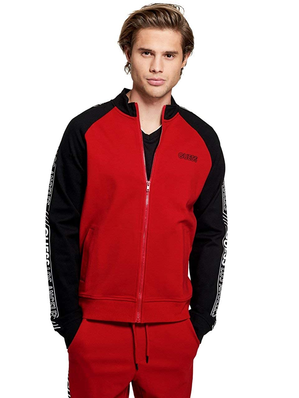 Amazon.com: GUESS Factory - Chaqueta para hombre con ...