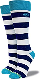 product image for Mitscoots Women's Striped Crew Boot Socks