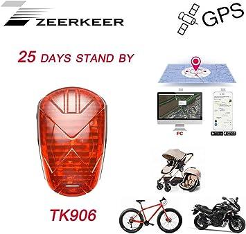 Rastreador GPS Zeerkeer para Bicicleta/Bicicleta/Moto/vehículo ...