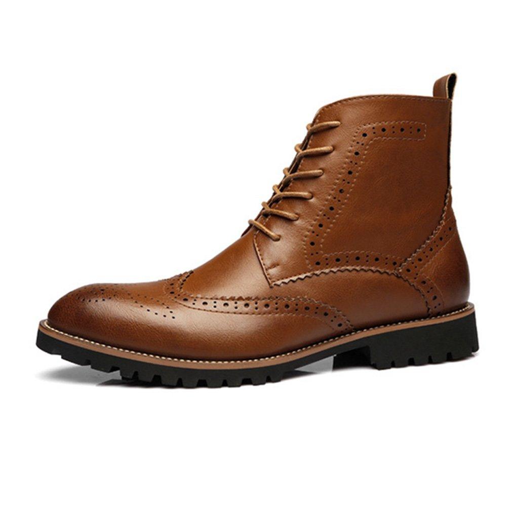 Feidaeu - Botas Hombre 42 EU marrón Zapatos de moda en línea Obtenga el mejor descuento de venta caliente-Descuento más grande