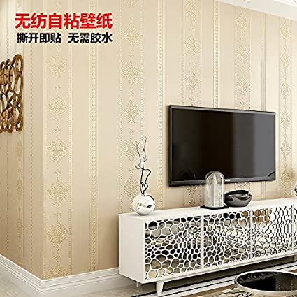 Jedfild Wallpaper Jane Europe 3D Stereo Embossed Wall Sticky Bedroom Living Room Backdrop