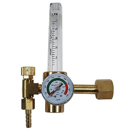 Gasmengenmesser Gastester Flowmeter für CO2 Argon 3-25 l//min