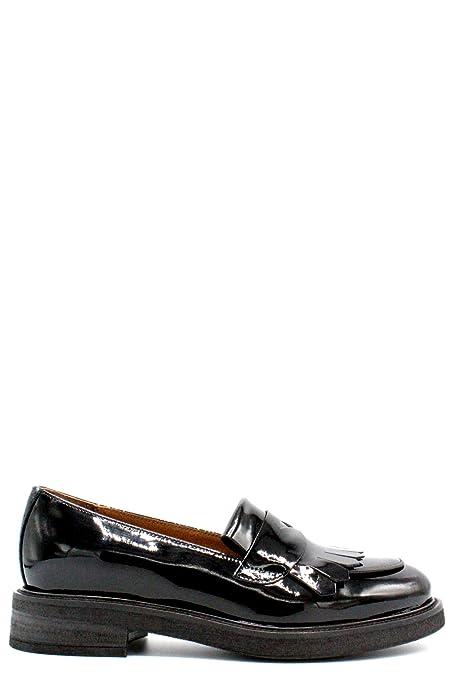 FRAU 98P5 nero scarpe donna inglesina puntale inglese pelle  Amazon.it   Scarpe e borse 04c358a2b2d
