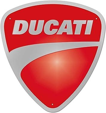 "Ducati  Metal Sign 6/"" x 18/"""