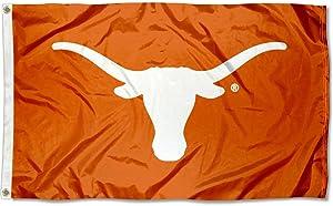 Texas Longhorns UT University Large College Flag