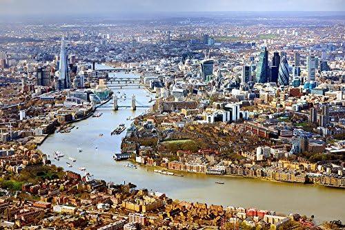 Photos.com by Getty Images Antena View de Londres Póster ...