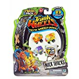The Trash Pack Series 1 Trash Wheels 4-Pack Muck Trucks