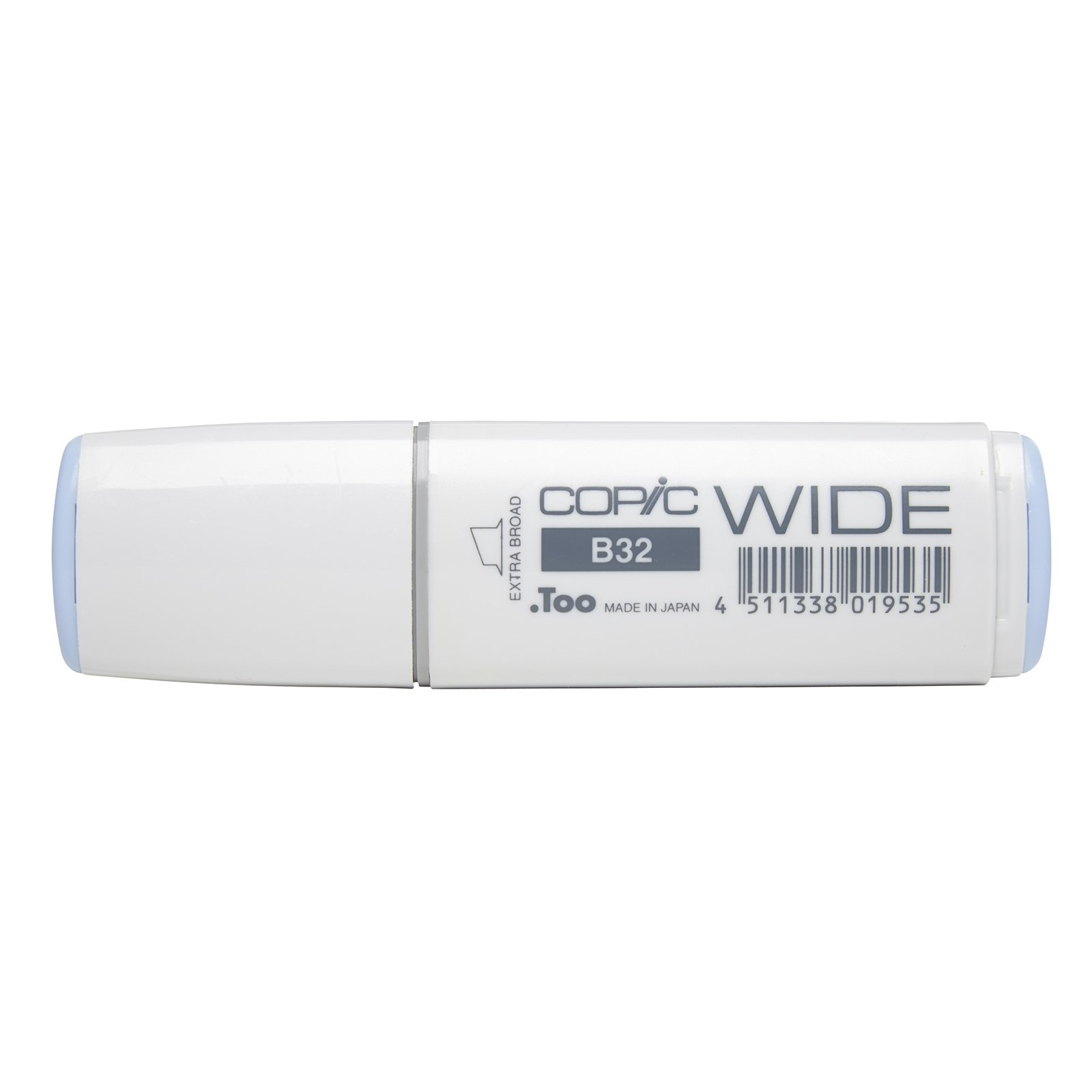 Copic Marker with Replaceable Nib, B32 Wide, Pale Blue