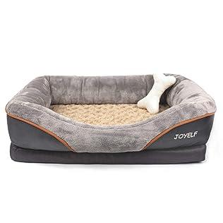 JOYELF Orthopedic Memory Foam Pet Bed