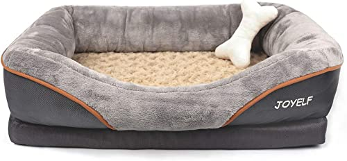 JOYELF-Orthopedic-Dog-Bed-Memory-Foam-Pet-Bed-with-Removable-Washable-Cover