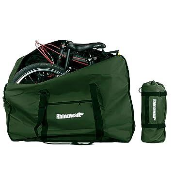 Selighting Bolsa Transporte Bicicleta Plegable, Bolsa de Almacenamiento de Bici Bolsa para el Manillar Bolso