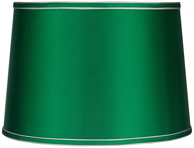 Sydnee satin emerald green drum lamp shade 14x16x11 spider sydnee satin emerald green drum lamp shade 14x16x11 spider aloadofball Images