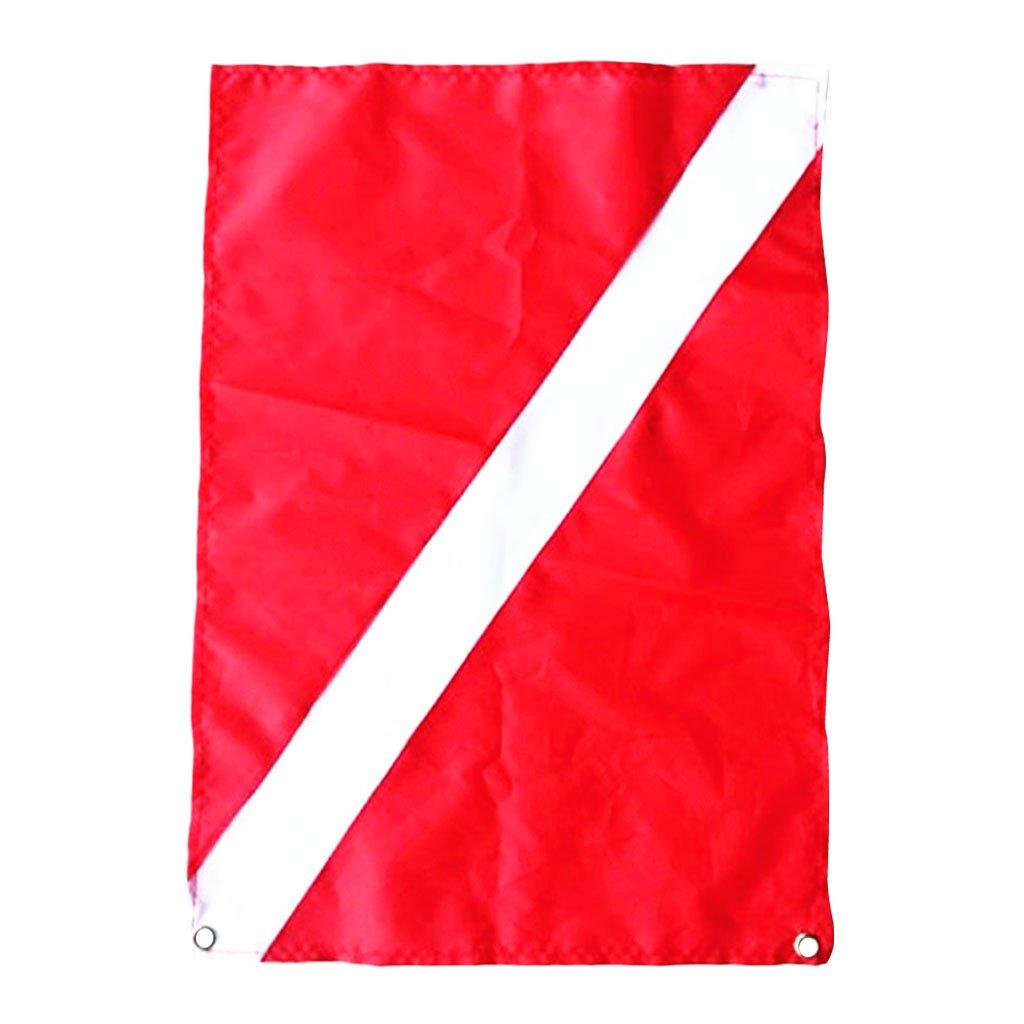 Scuba Dive Diver Down Flag Segnale Di Sicurezza Marker Banner Kayak Marine Non-brand