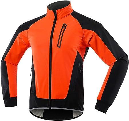 Giacche Da Ciclismo Da Uomo Per Uomo Giacca Da Mountain Bike MTB Giacca Calda In Pile Riflettente Visibile Giacca Per Ciclismo Invernale Antivento