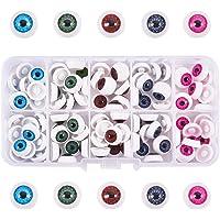 PandaHall Elite - Ojos de muñeca de plástico