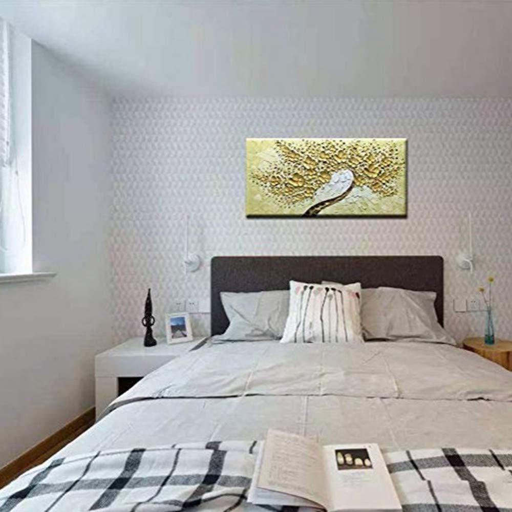 OME&MEI Pintado A Mano Pinturas Al Óleo Flores Abstractas Obra De De Arte Lienzo Sala De Obra Estar Inicio Habitaciones De Hotel Decoración-40X60Cm c6f317