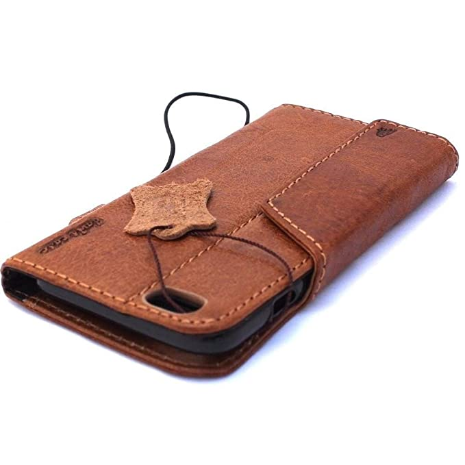 the best attitude 569af 09af1 Genuine Italy Oiled Leather Case for Iphone 6s Plus + Book Wallet Handmade  Business Luxury New ! Band 6+ S