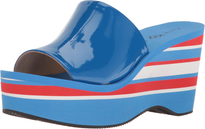 Katy Perry Women's The Casey Wedge Sandal B01N0VCB3K 6 B(M) US|Ocean Blue