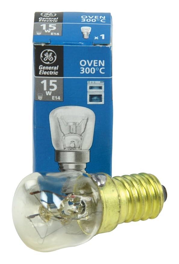 General Electric - Bombilla Para Horno 15 W E14: Amazon.es: Coche ...