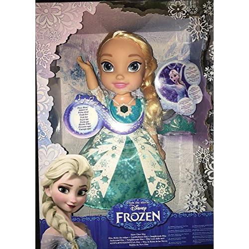 Disney - La Reine des Neiges - Poupon chantant Elsa Chante avec les Lumières