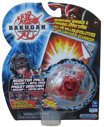 - Bakugan Booster Pack (Bakugan May Vary)