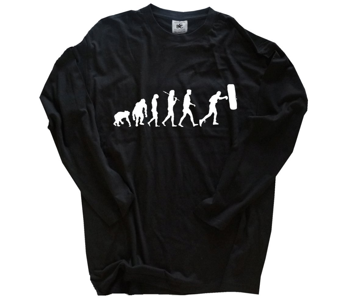 Shirtzshop T-shirt Evolution Lehrer B00PCAKJDG B00PCAKJDG B00PCAKJDG T-Shirts Markenschmaus 855bd6