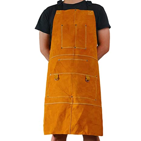 bb3893424551 Leather Welder Apron Blacksmith Apron