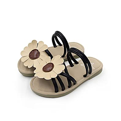 7c9c9a12a Children Sandals Girls Rabbit Ears Princess Sunflower Kids Flat Sandals  Baby Girls Slip-Resistant Shoes
