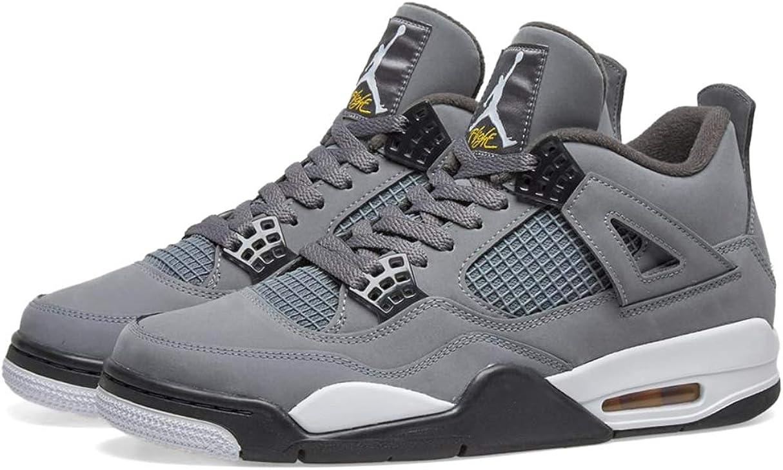 Nike Air Jordan 4 Retro (GS) Cool Grey 5.5Y Women 7