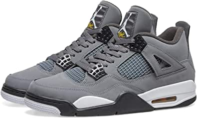 Amazon.com | Nike Air Jordan 4 Retro (GS) Cool Grey 5.5Y Women 7 ...