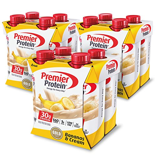 (Premier Protein 30g Protein Shake, Banana, 12 Count)