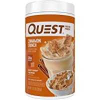 Quest Nutrition Cinnamon Crunch Protein Powder, High Protein, Low Carb, Gluten Free, Soy Free, 25.6 Ounce (Pack of 1)