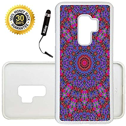 Amazoncom Custom Galaxy S9 Plus Case Mandalas Tumblr Purple Edge