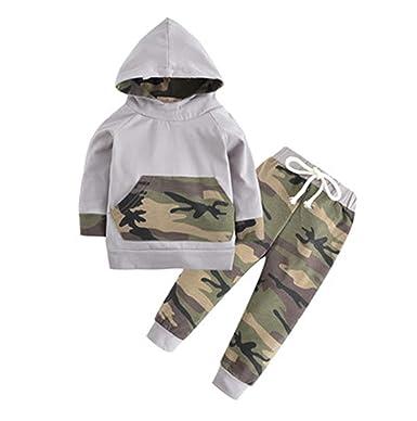 Amazon.com: Juego de ropa de estilo otoño para niño ...