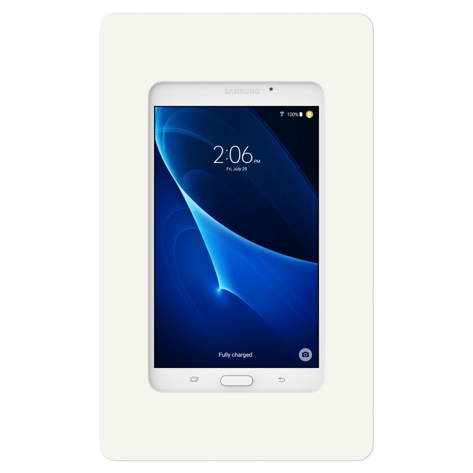 VidaMount On-Wall Tablet Mount - Samsung Galaxy Tab A 7.0 - White by VidaBox Kiosks (Image #3)